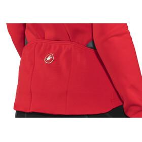 Castelli Sinergia Full Zip Jersey Women red